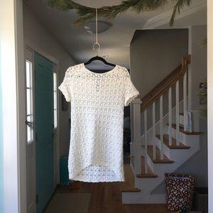 [Philosophy] cotton crochet dress / tunic